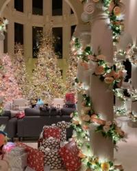 Cardi B Christmas Decor