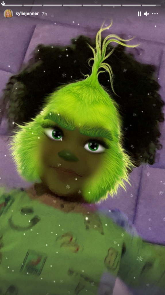 Stormi Webster Giggles Over Funny Instagram Filter With Mom Kylie Jenner: 'What Happened to My Face?'