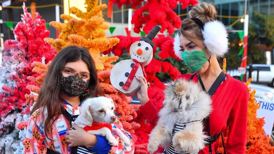 farrah-sophia-abraham-wearing-onesies-while-christmas-tree-shopping