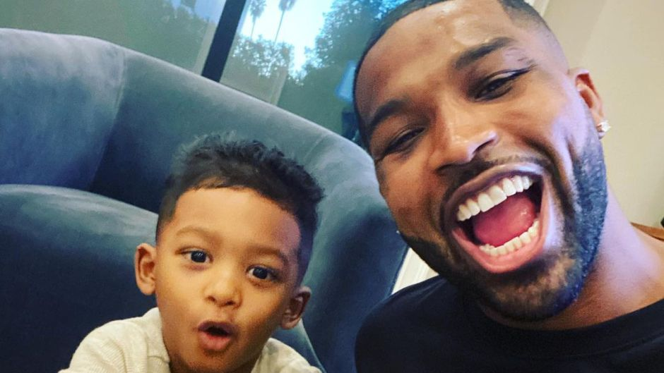 Tristan Thompson and Son Prince's Cutest Moments: Photos 4