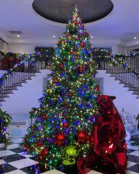 Rob Kardashian's Christmas Decorations