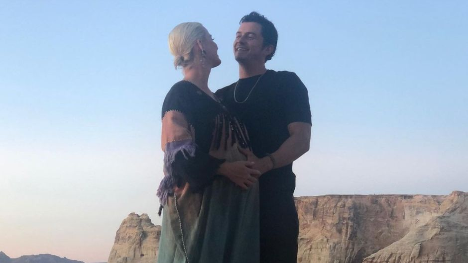 Katy Perry Posts Intimate Photos Orlando Bloom for His Birthday 2