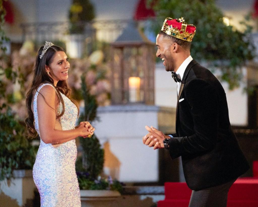 Queen Victoria Larson on Matt James Season