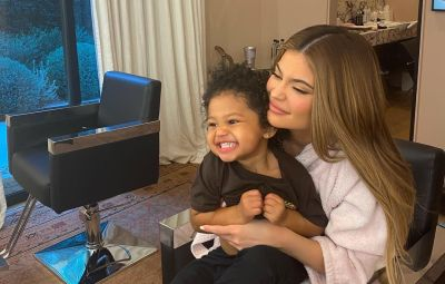 Kylie Jenner Reacts to Troll Who Says Stormi Is 'Wearing Makeup'