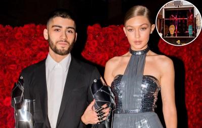 Gigi Hadid Gives an Inside Look at Boyfriend Zayn's Socially Distanced Album Release Party