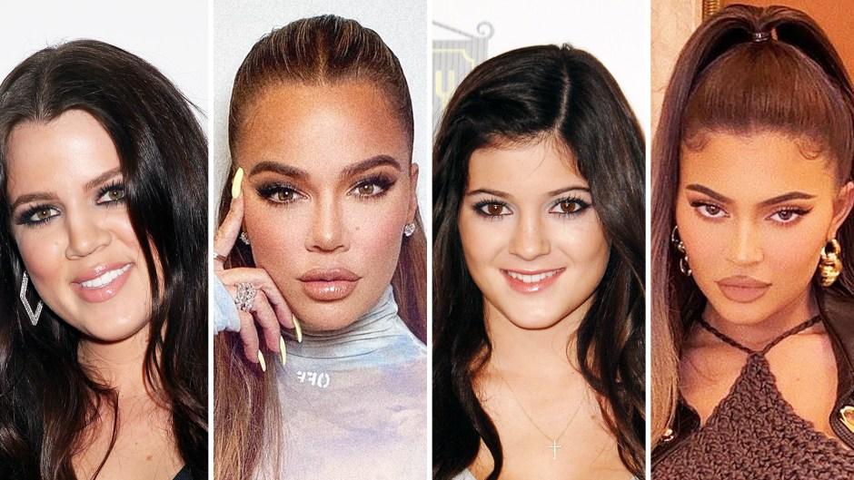 Khloe Kardashian and Kylie Jenner Kardashians Plastic Surgery