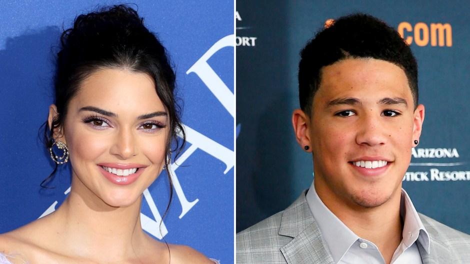 Kendall Jenner Supports Boyfriend Devin Booker's Basketball Game