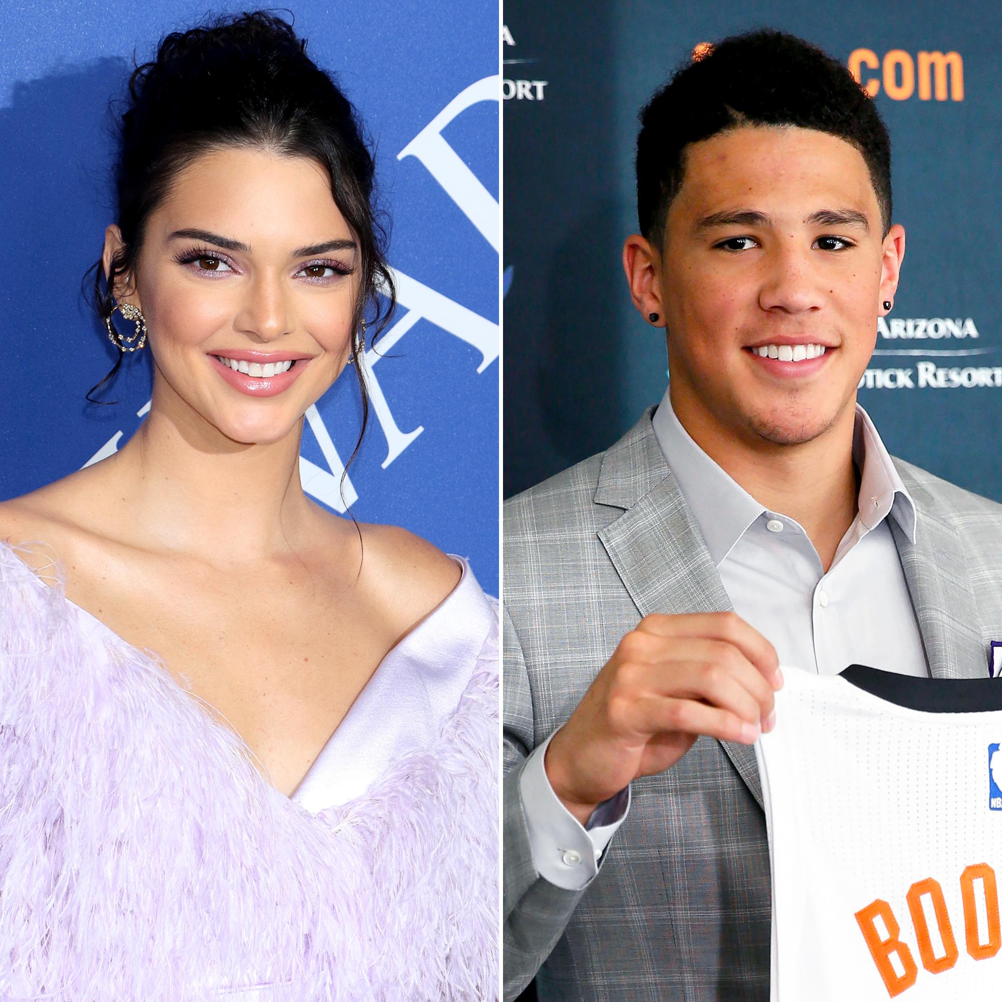 Kendall Jenner Supports Boyfriend Devin Booker S Basketball Game