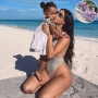 Kim Kardashian Shows Off Lavish Purple Floral Display for Daughter Chicago West's Birthday