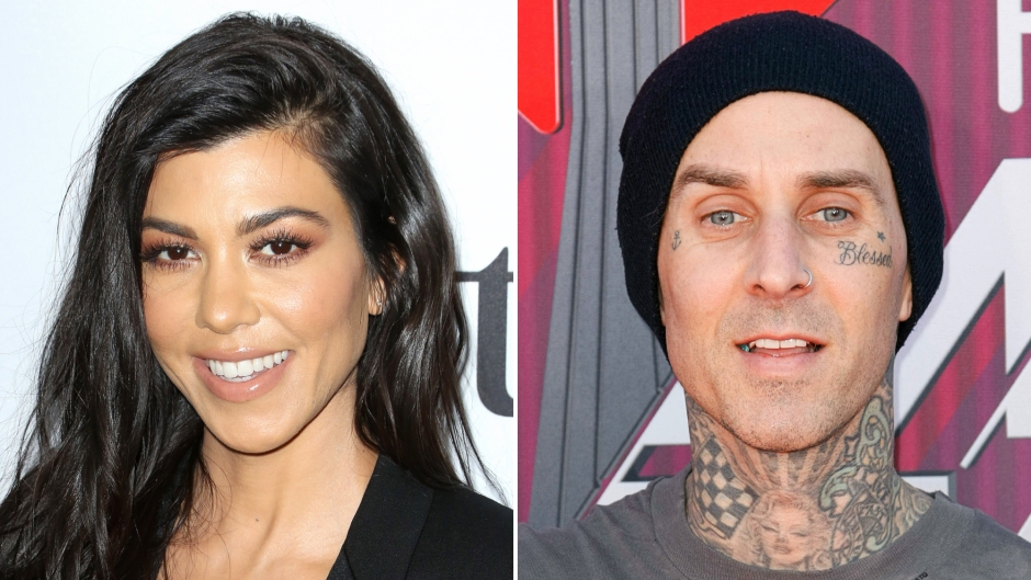 Kourtney Kardashian Reacts to Footage of Boyfriend Travis Barker's '1st Punk Band' and It's Too Cute