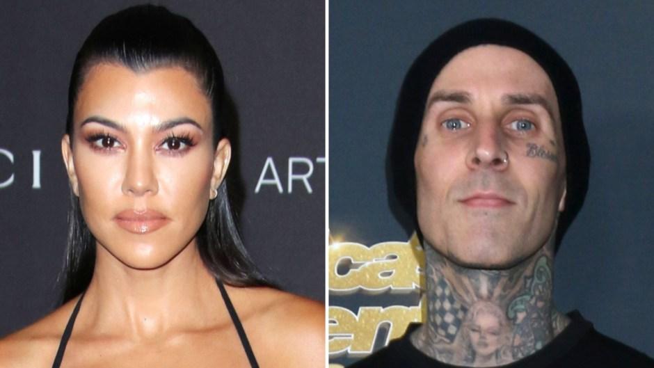 Kourtney Kardashian's New Flame Travis Barker Is 'Amazing' With Her Kids: 'They've Welcomed Him'