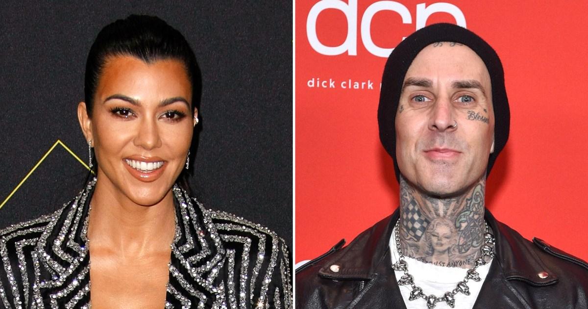 Are Kourtney Kardashian, Travis Barker Dating? They Spark ...