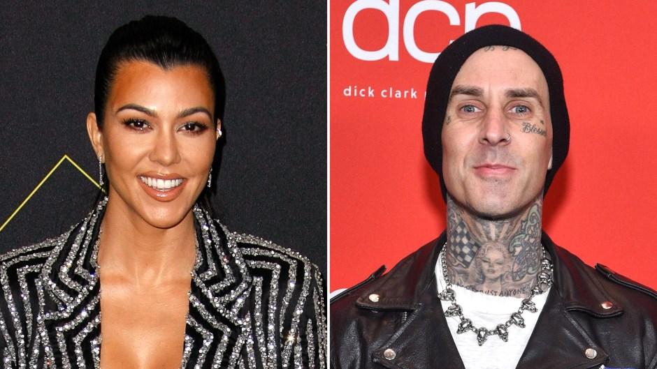 Kourtney Kardashian and Travis Barker Spark Dating Rumors During Trip to Palm Springs