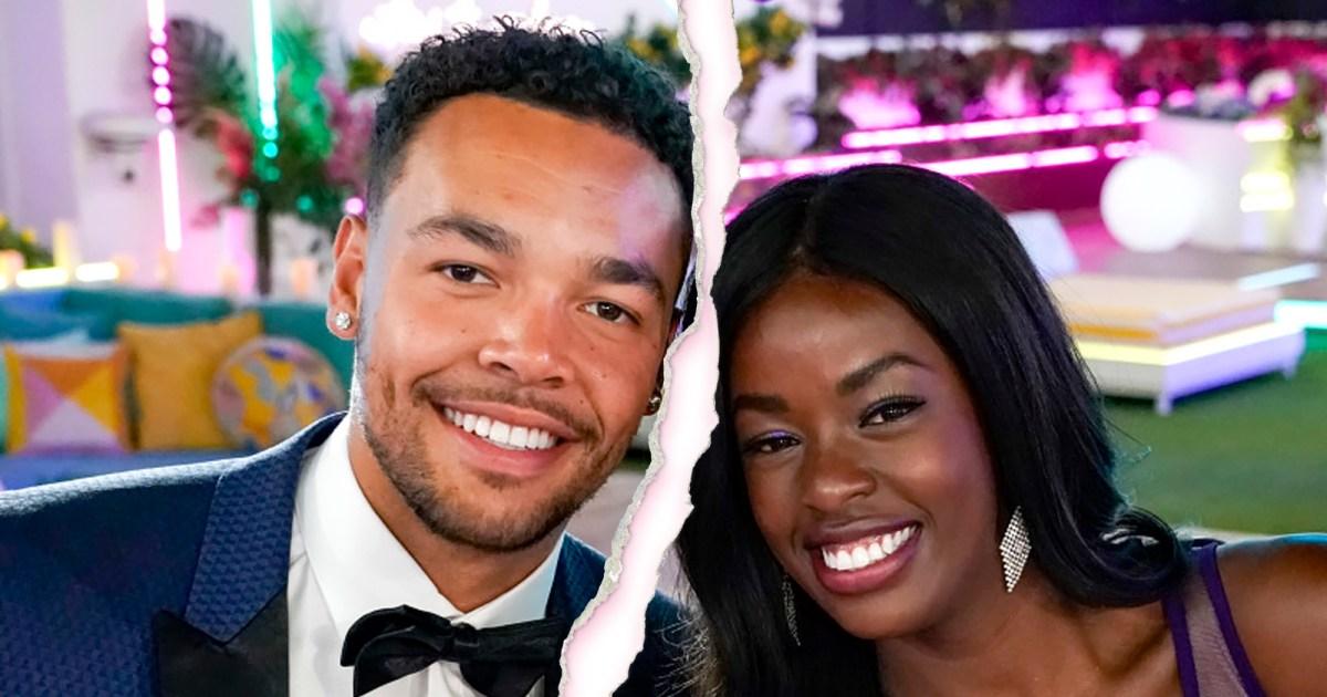 Love Island Winners Justine Ndiba and Caleb Corprew Split Feature