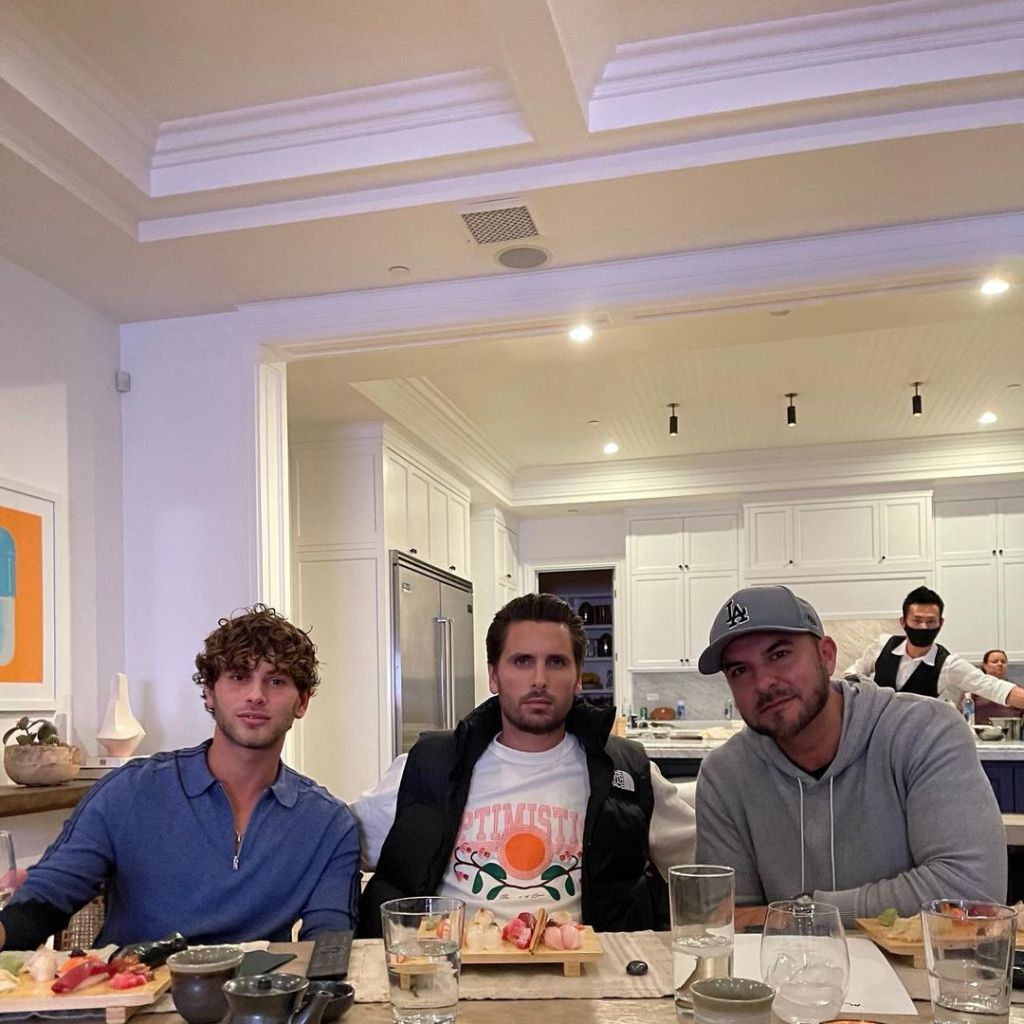 Family Ties? Scott Disick Hosts a 'Private Dinner' With Amelia Gray Hamlin's Sister's Boyfriend