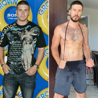 Keto Guido Alert! 'Jersey Shore' Star Vinny Guadagnino's Transformation Over the Years