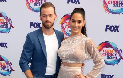 Artem Chigvintsev Is 'Nervous' About Connecting to Son With Nikki Bella in 'Total Bellas' Clip