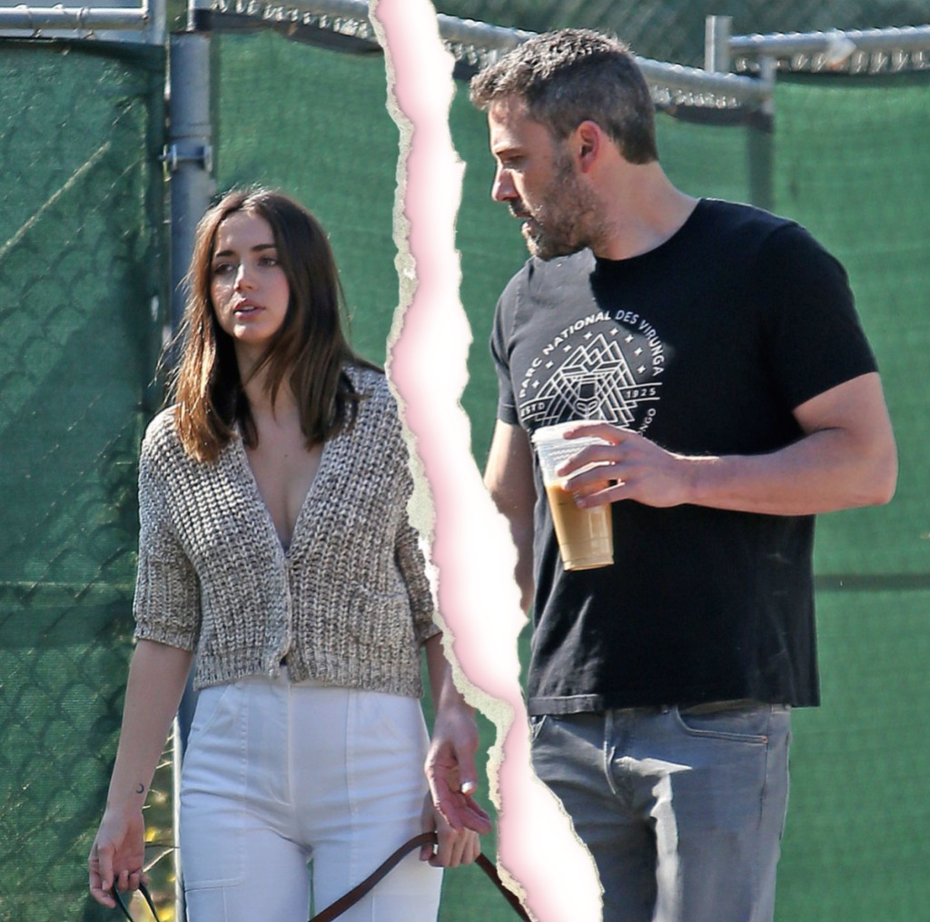 Ben Affleck and Ana De Armas out and about, Los Angeles, USA - 21 Mar 2020