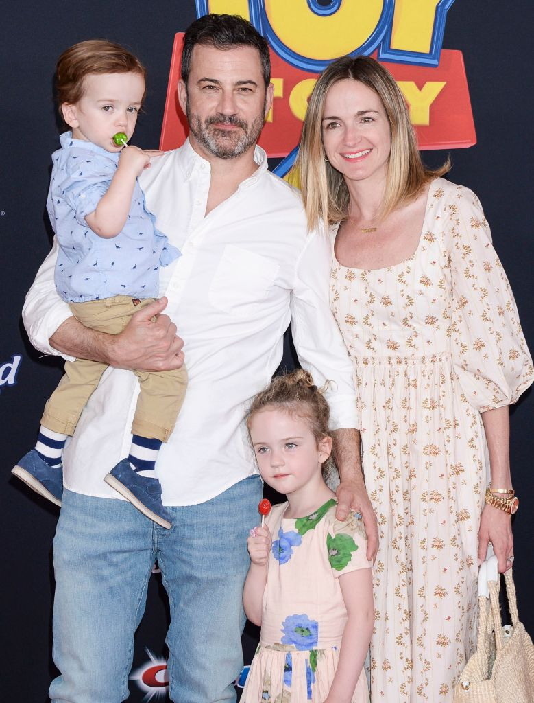 Jimmy Kimmel wife Molly McNearney kids Jane and Billy