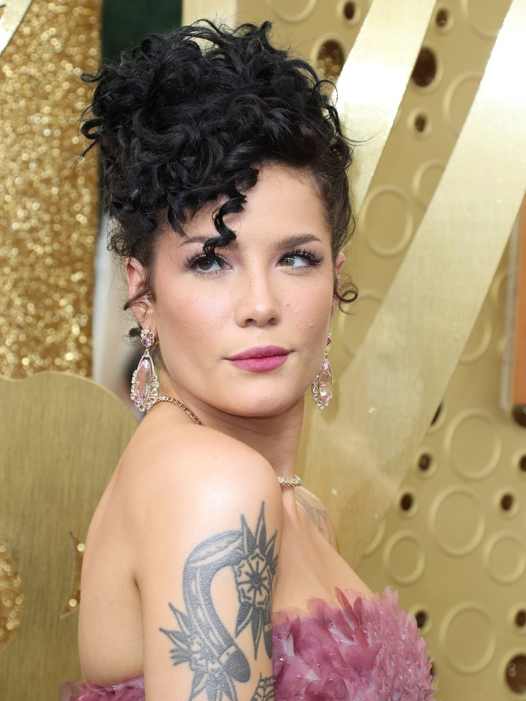 Halsey Shows Baby Bump and Endometriosis Surgery Scars in Photo