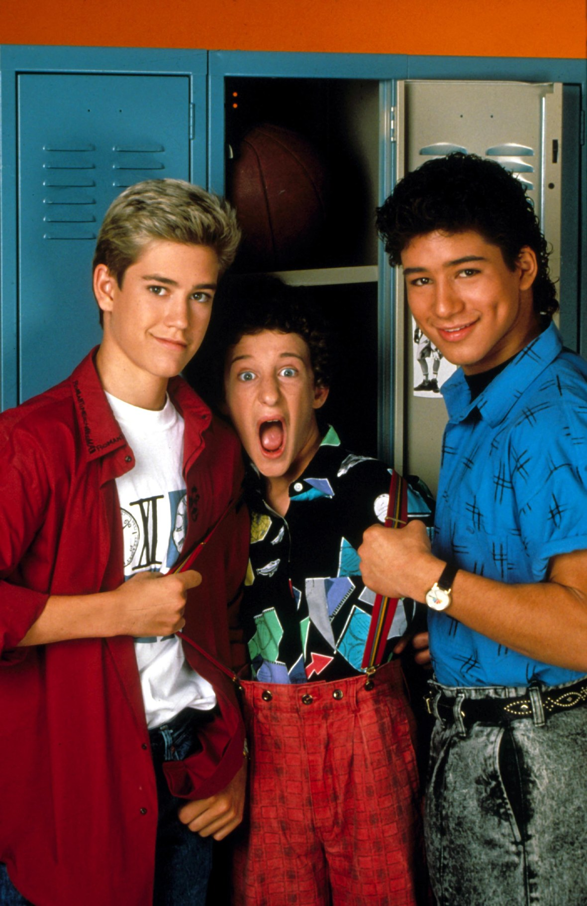 Dustin Diamond on Saved by the Bell