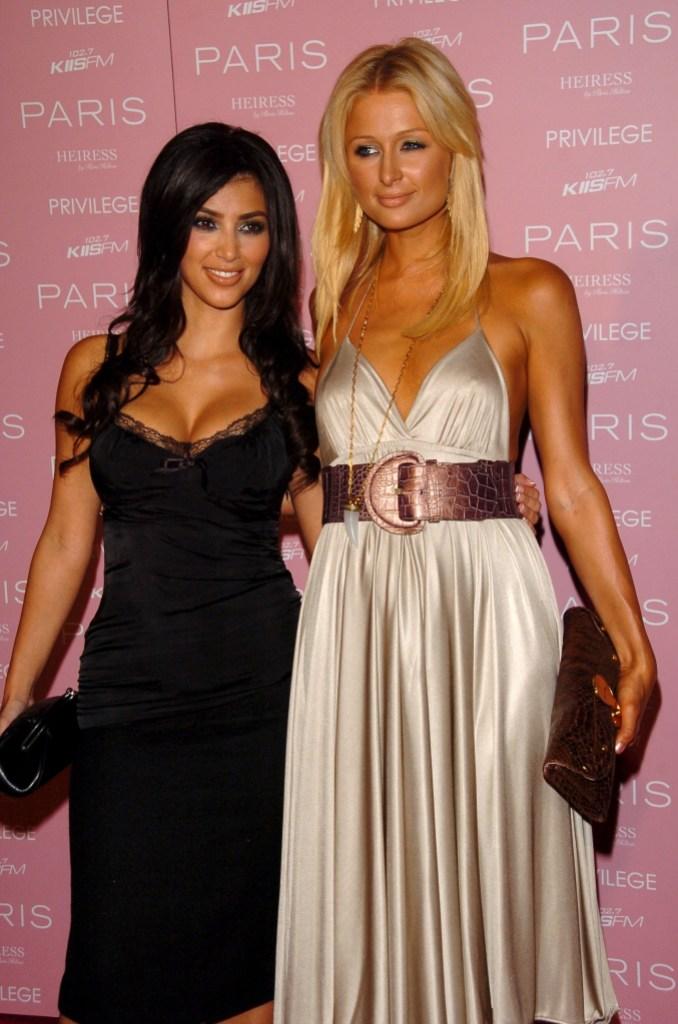 Kim kardashian and Paris Hilton Friendship Travis Barker