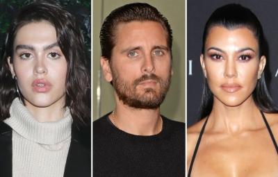Amelia Gray Hamlin Is 'Totally Cool' With Scott Disick and Kourtney Kardashian's 'Close Relationship'