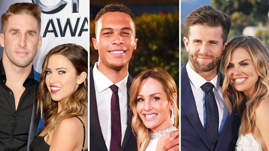 Kaitlyn Bristowe and Shawn Booth Clare Crawley and Dale Moss Hannah Brown and Jed Wyatt Bachelors and Bachelorettes Who Split After Getting Engaged