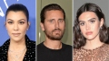 How Kourtney Kardashian Feels About Scott Disick's Model Girlfriend