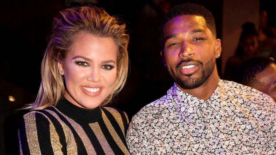 Khloe Kardashian Sparks Engagement Rumors With Massive Diamond Ring From Tristan Thompson