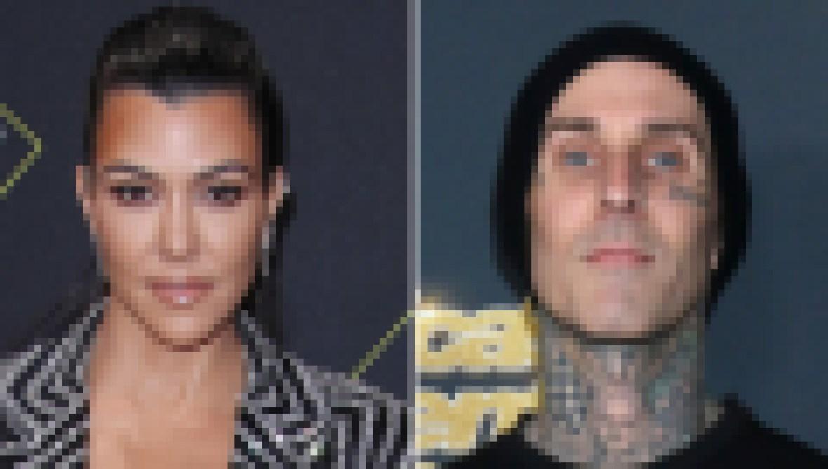 Heating Up! Kourtney Kardashian and Boyfriend Travis Barker's Flirtiest Exchanges So Far