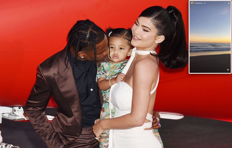 Kylie Jenner and Travis Scott Took Daughter Stormi Webster to Her Favorite Place for Valentines Day