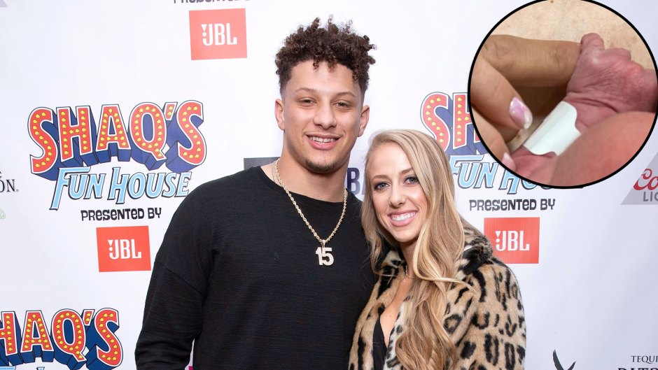 Patrick Mahomes' Fiancee Brittany Matthews Reveals They Why They Haven't Shared Photos of Baby Sterling