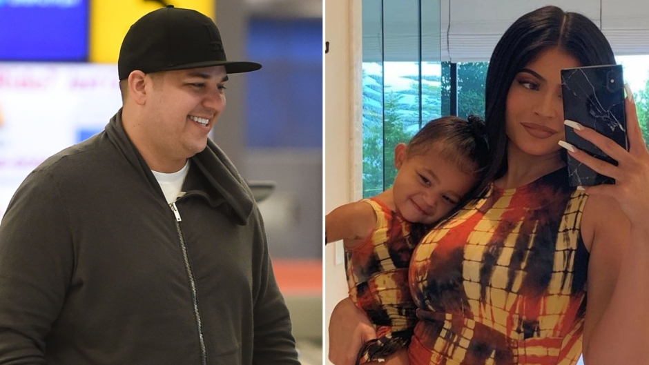 Rob Kardashian Shows Off Weight Loss in New Photo With Stormi