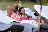 Scott Disick Packs on the PDA with Girlfriend Amelia Hamlin in Steamy Beach Photos