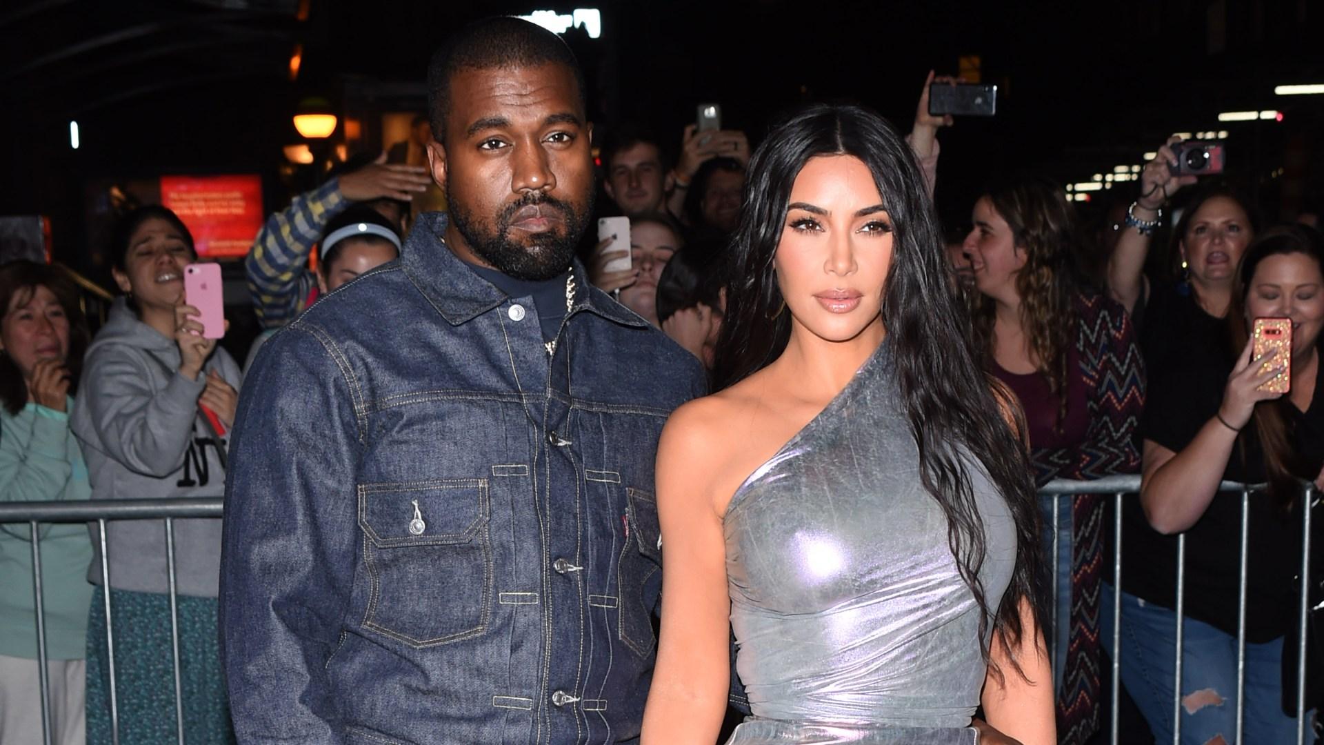 Kim Kardashian Seemingly Took Over Kanye West's Yeezy Showroom Closet Amid Marriage Drama