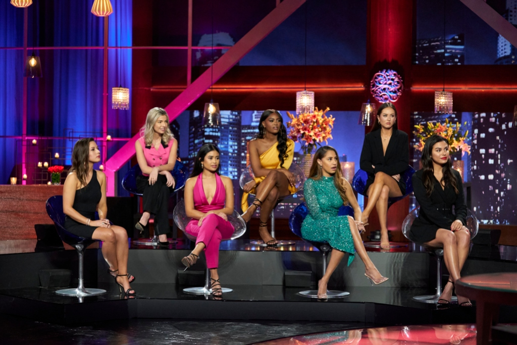 BACHELOR MATT JAMES WOMEN TELL ALL KATIE, KIT, JESSENIA, KHAYLAH, RYAN, ABIGAIL, BRITTANY