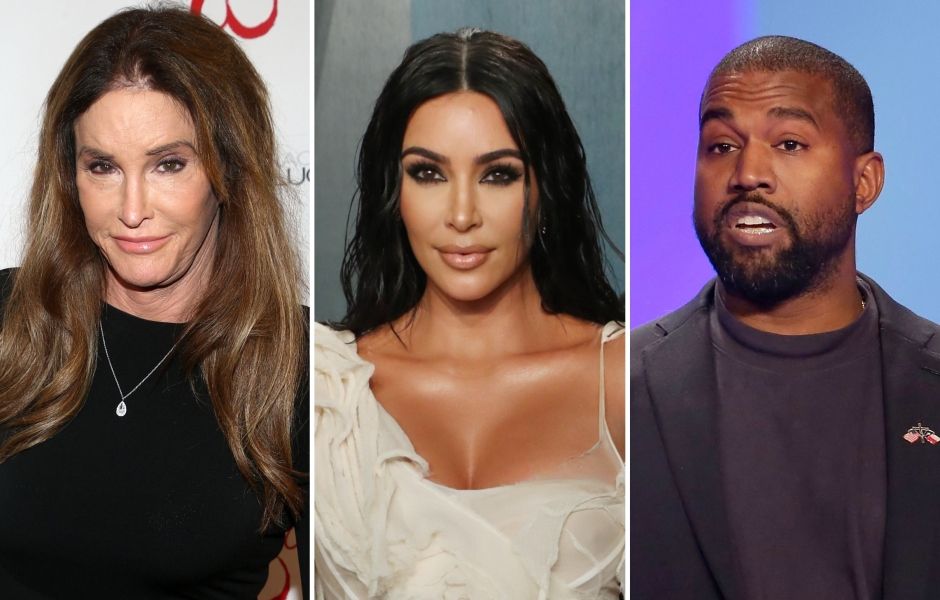 Caitlyn Jenner Reacts to Kim Kardashian and Kanye West's Divorce