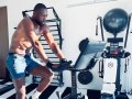 Dwyane Wade Taps it Back on his SoulCycle At-Home Bike