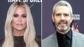 Khloe Kardashian Gives Andy Cohen a Shout-Out After He Reveals How to Correctly Pronounce Her Name