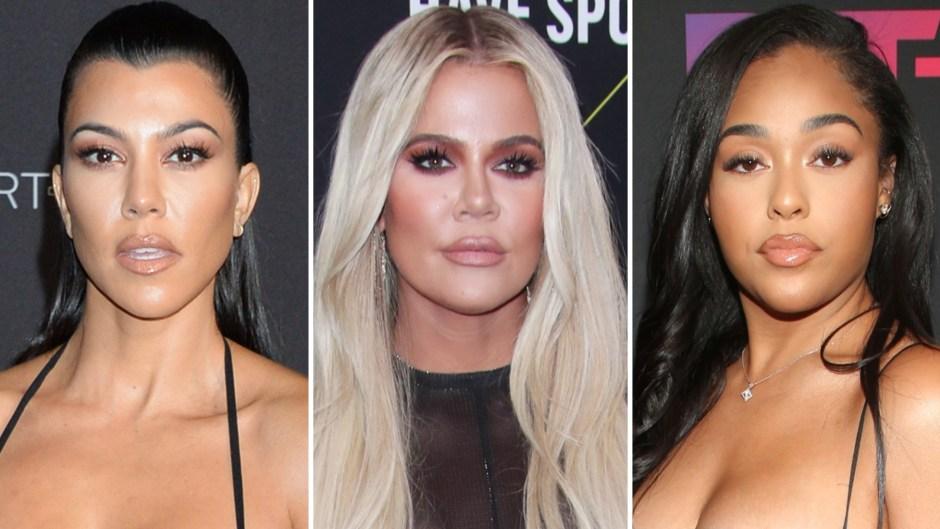 Memories? Kourtney Kardashian Shares a Throwback 'KUWTK' Clip Featuring Khloe and Jordyn Woods