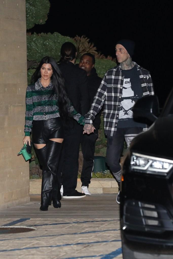 Kourtney Kardashian 'Is in No Rush' to Marry Boyfriend Travis Barker: 'There's Zero Pressure'