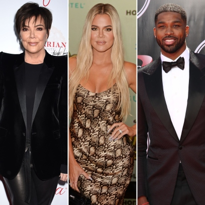Kris Jenner Reacts to Khloe and Tristan Engagement Rumors