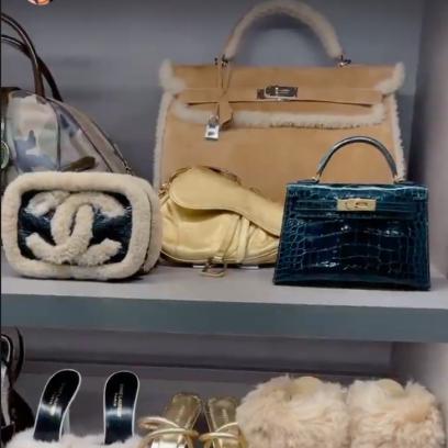 Kylie Jenner Shoe Closet Photos