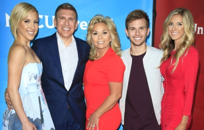 Todd Chrisley's Sweetest Photos With His Kids