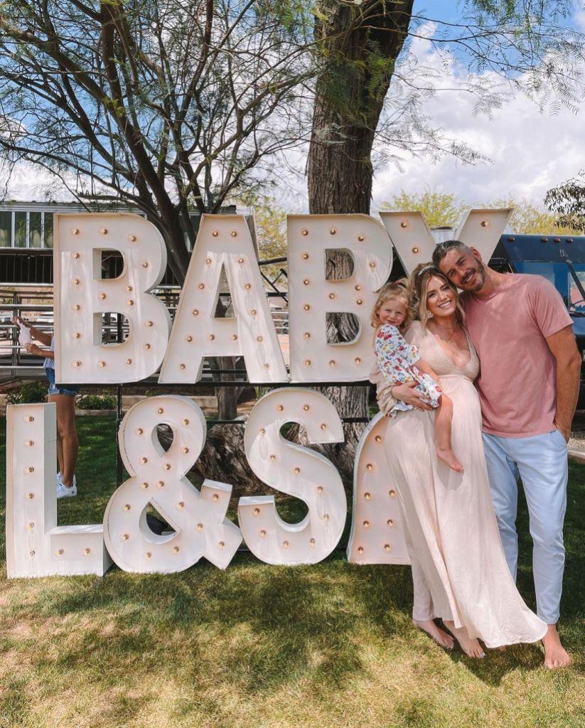 Arie Luyendyk Throws Pregnant Wife Lauren a Baby Shower: Photos