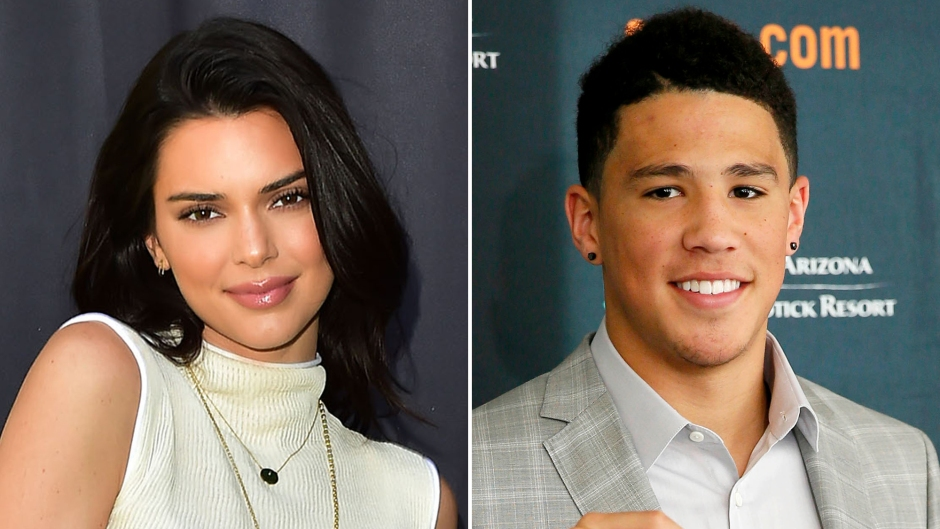 Kendall Jenner Holds Hands With Boyfriend Devin Booker in a Sexy Leather Look During Night Out
