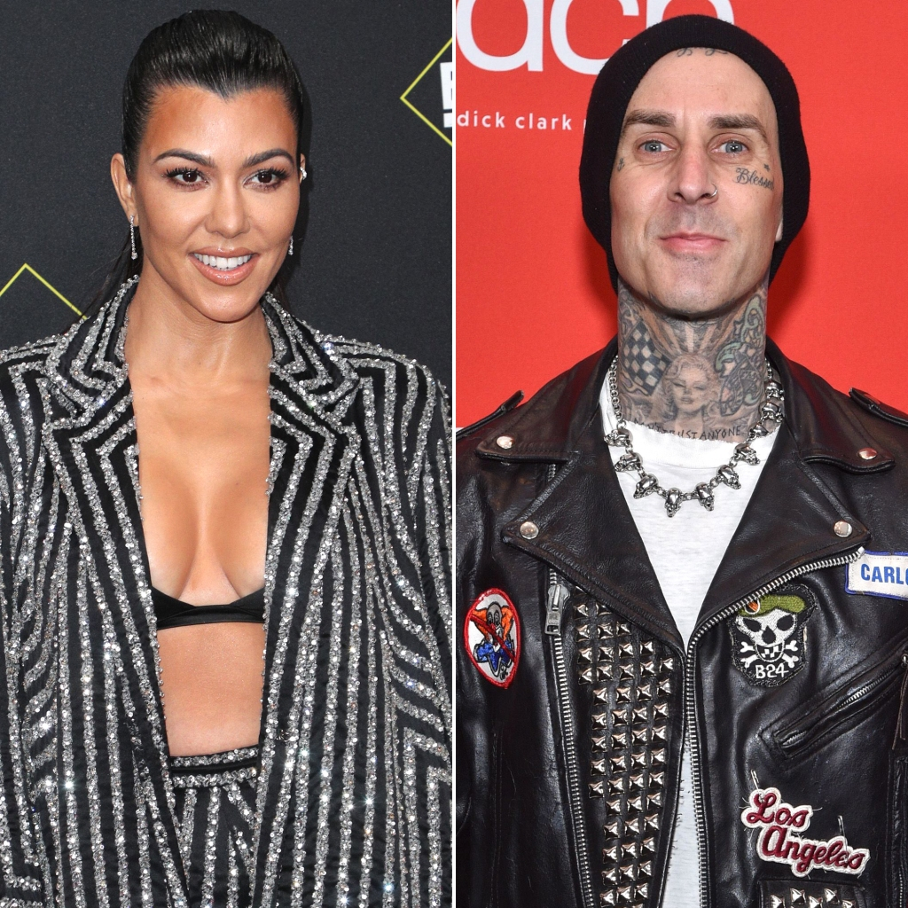 Kourtney Kardashian Shares the Sweetest Photo Ever of BF Travis Barker's Daughter Alabama and Her Son Reign