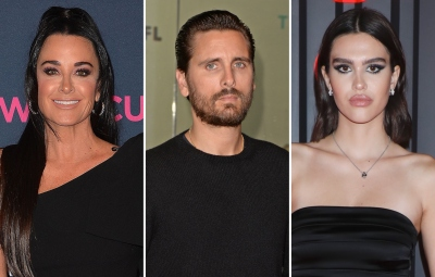 Kyle Richards Says Scott Disick Is 'Too Old' for Amelia Hamlin