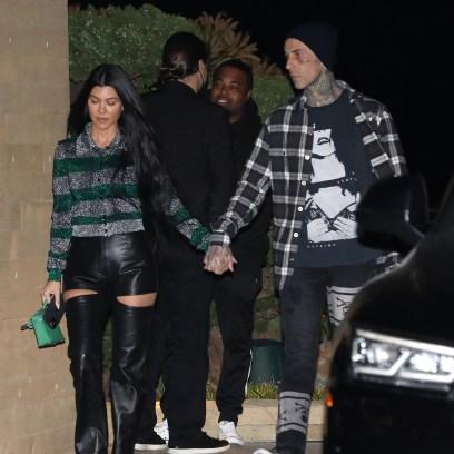 Kourtney kardashian kids feel about pda with boyfriend travis barker